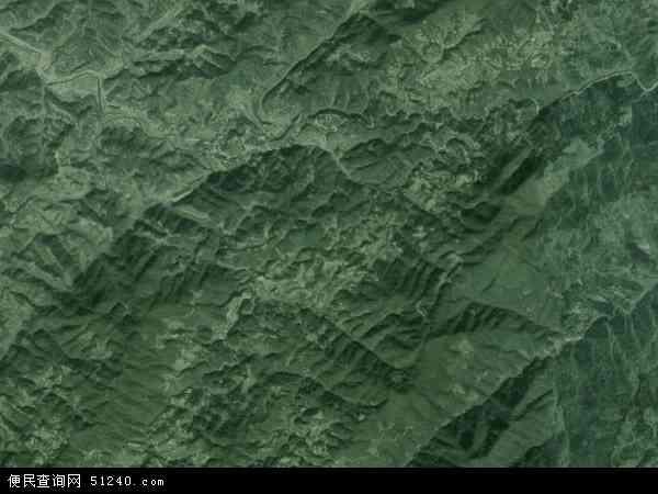 中国湖南省怀化市洪江市土溪乡地图(卫星地图)
