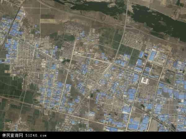 中国山东省临沂市费县探沂镇地图(卫星地图)