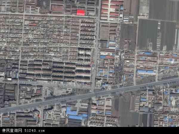 中国山东省烟台市龙口市新嘉地图(卫星地图)