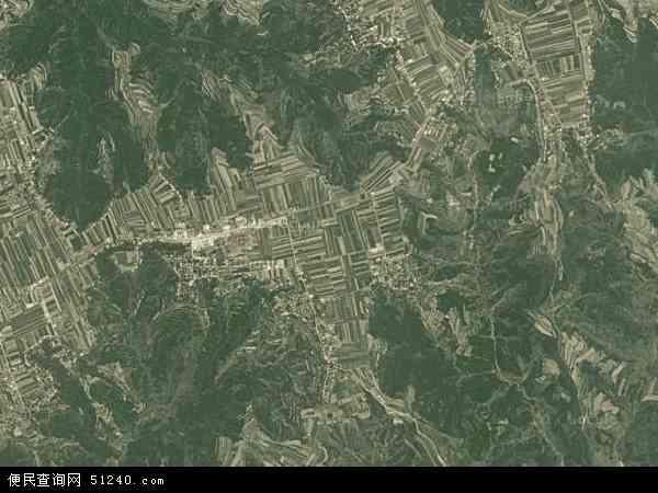 中国甘肃省庆阳市正宁县西坡乡地图(卫星地图)
