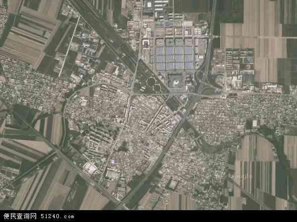 中国辽宁省鞍山市海城市西柳镇地图(卫星地图)