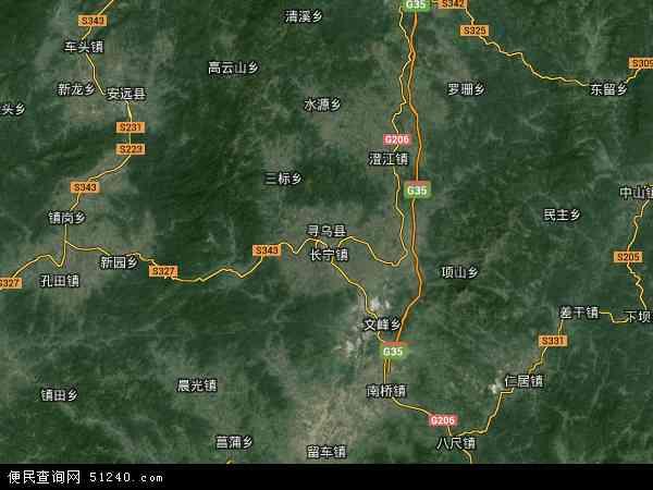 寻乌县地图 寻乌县卫星地图 寻乌县高清航拍地图 寻乌县高清卫星地图 图片