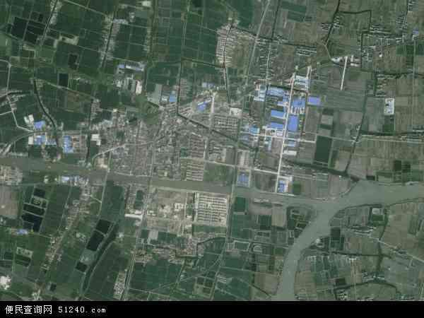 徐舍镇高清卫星航拍地图