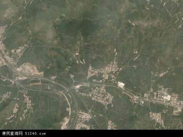 中国辽宁省大连市瓦房店市许屯镇地图(卫星地图)