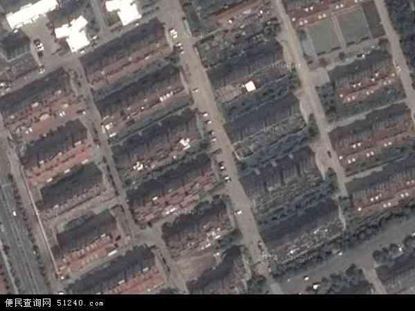 中国山东省青岛市黄岛区薛家岛地图(卫星地图)