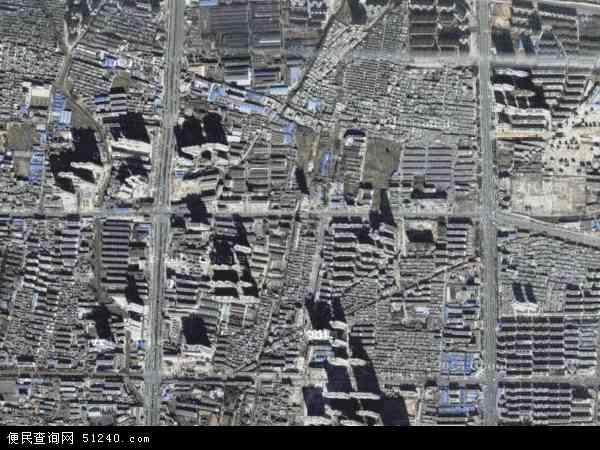 中国河南省南阳市宛城区仲景地图(卫星地图)图片