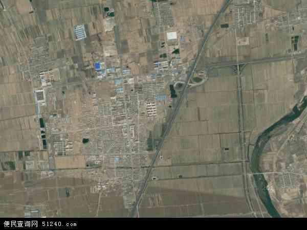 中国山东省威海市文登市泽头镇地图(卫星地图)