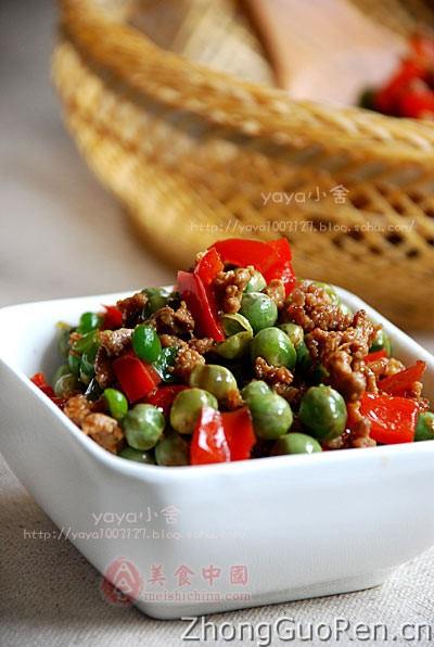 小炒做法-豌豆热菜-菜谱-家常菜谱-天天饮粉藕排骨汤的菜谱图片