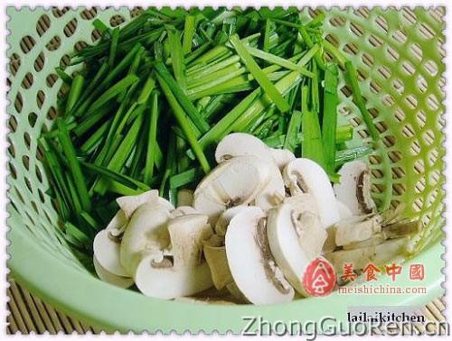 肉末热菜炒韭菜-菜谱菜谱-猪蹄-蘑菇菜谱-备孕可以吃家常醋图片
