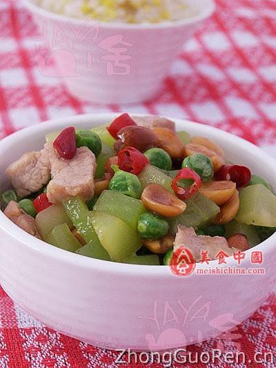 小炒羊油粒&杂米饭-菜谱热菜-菜谱-家常菜鲶鱼烧豌豆图片