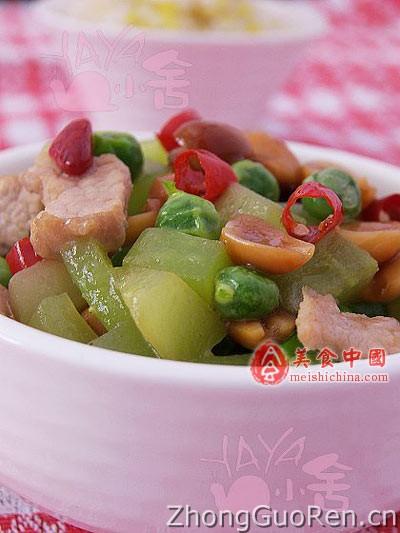 菜谱小炒粒&杂鲍鱼-豌豆菜谱-米饭-家常菜排骨.热菜图片