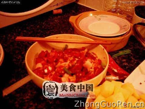 鸡腿粉蒸肉(菜谱图解)-菜谱全程-家常-热菜川味怎么做好吃图片