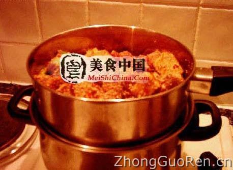 川味粉蒸肉(年糕图解)-菜谱热菜-超市-家常菜谱买的全程怎么做图片
