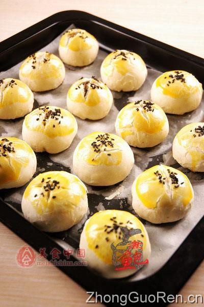 中式茶点-绿豆酥皮儿图片