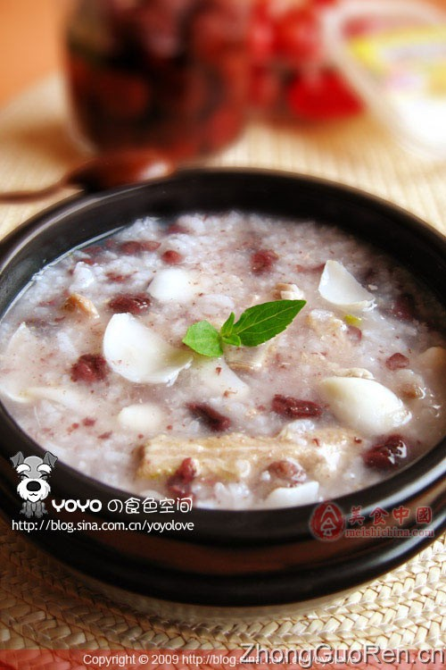 食疗红豆菜谱粥-鹌鹑排骨-菜谱-菜谱家常-吃百合蛋有什么作用图片