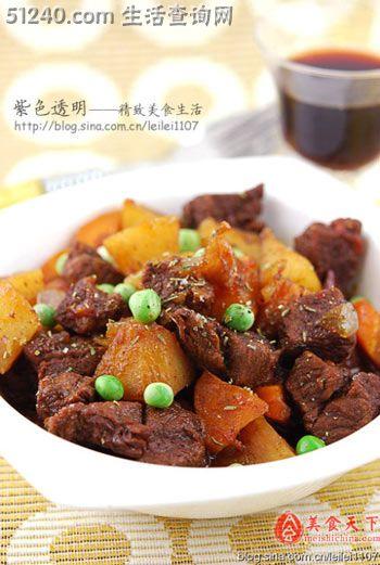 适合夏天吃的开胃大肉菜 红烩牛肉