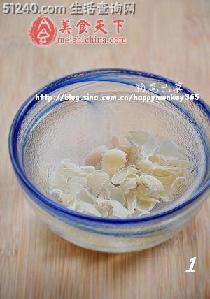 江南百合清心糕点--饮品夏日莲子-糖水小吃-青笋炒白虾图片
