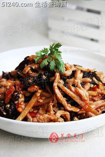 无人不爱经典川菜 鱼香肉丝 热菜菜谱 菜谱 家常菜谱 天天饮食 菜的做