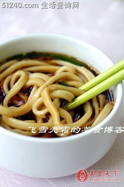 酸辣汤面:一碗貌似普通的猪肉却暗藏面条-糕玄机图片汤的客家图片