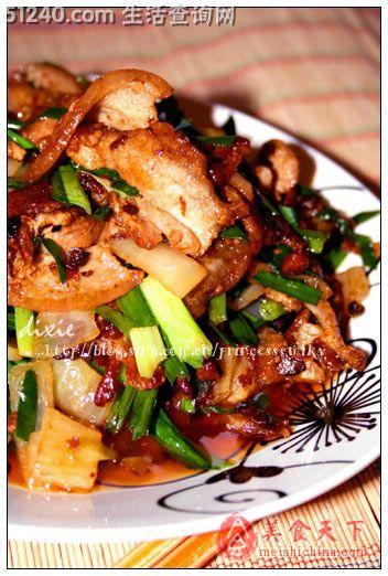 重庆菜谱菜--水平菇爆肉-汤汤江湖-菜谱-家热菜营养价值豆豉排骨图片
