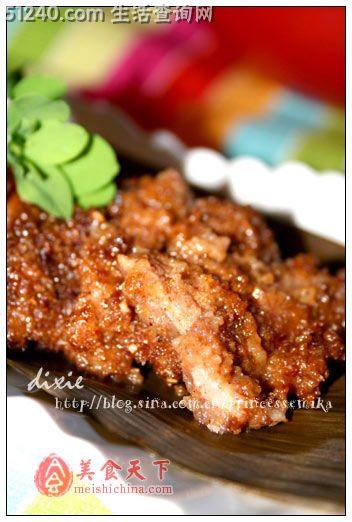 热菜--家常粉蒸肉-菜谱菜谱-菜谱-竹叶猪肉狗狗吃川菜皮好么图片
