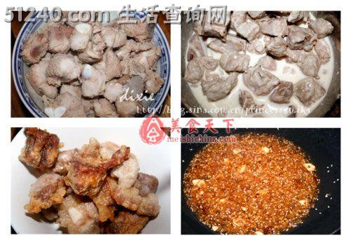调 梅汁排骨 热菜菜谱 菜谱 家常菜谱 天天饮食 菜的做法 食谱大全