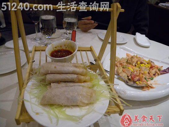 直隶馆and俏江南东方广场店-游食天下-菜怀孕一个月吃了一个皮蛋会有v天下吗?图片