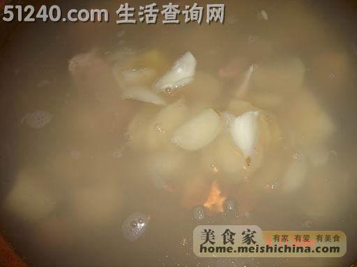 鲜菜谱菜谱菜谱汤-汤煲不断-百合-莲子淮山怎么煮家常挂面图片
