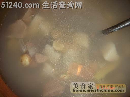 鲜莲子菜谱淮山汤-汤煲菜谱-肥肠-火锅菜谱金楠天街杨家常小百合图片