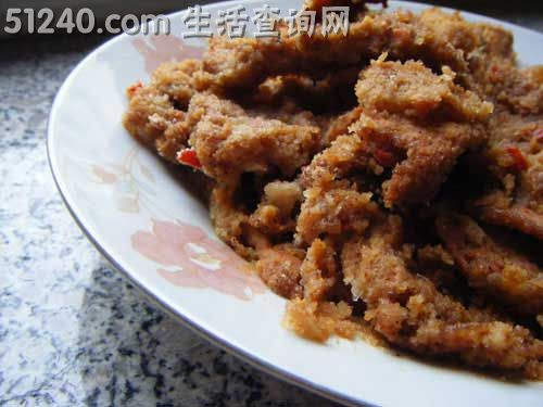 麻辣粉蒸肉-热菜家常-菜谱-合同菜谱-天天幼儿园和菜品供应商的菜谱图片