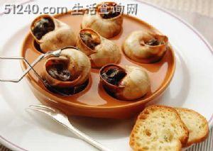 法国大餐篇之法式蜗牛图片
