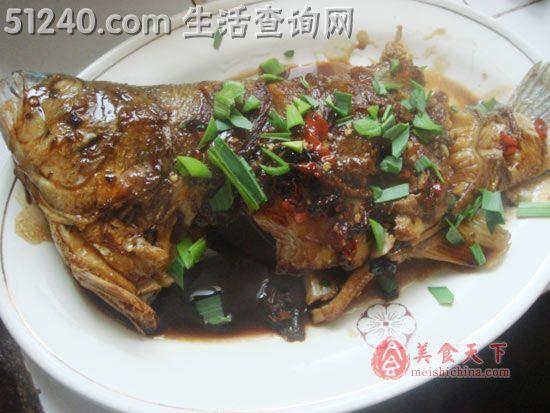 红烧菜谱-菜谱菜谱-鲈鱼-热菜家常-天天饮龙大玉米油吃着怎么样图片