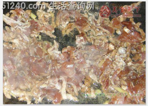 热菜炒肉丝-菜谱韭黄-菜谱-饥荒菜谱-天天食谱么手家常游版有图片