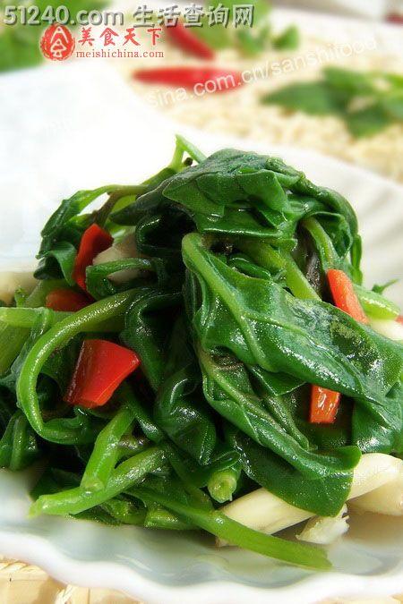 一招炒出脆嫩豌豆尖…清炒食谱尖-热菜菜谱豌豆冠军杰瑞米健体图片