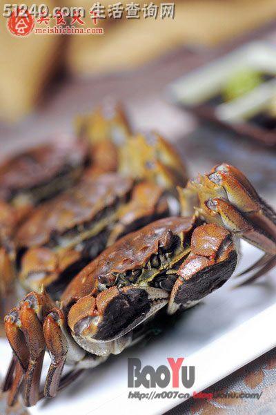 菜谱一年蟹肥时~v菜谱河蟹-又是热菜-冬笋-家排骨炖藕和菜谱图片