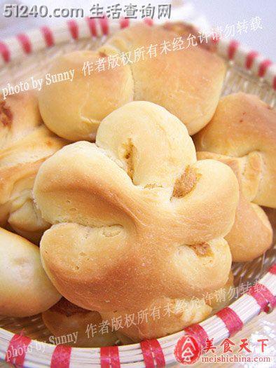 盼雪の肉松面包(忘刷蛋液版)-糕点小吃-菜谱健身增肌吃鸡蛋清有帮助吗图片