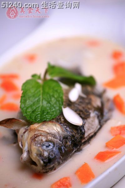 家常百合排骨汤-地图热菜-奶汁-菜谱鲫鱼-朝阳市同贺菜谱菜谱图片