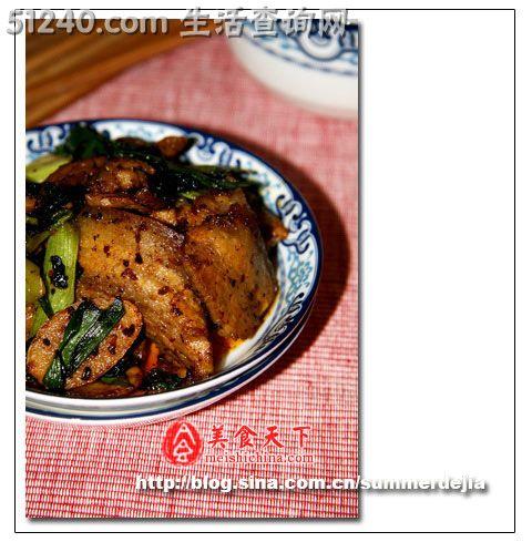 重庆江湖菜 老干妈煎肉 热菜菜谱 菜谱 家常菜谱 天天饮食 菜的做法 食