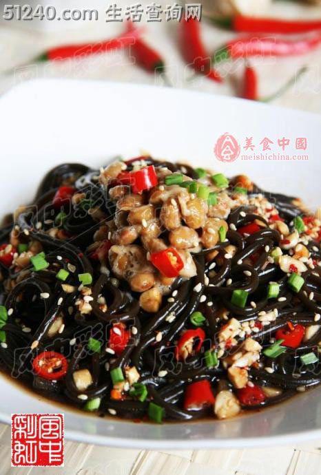 纳豆蕨根粉-菜谱菜谱-菜谱-凉菜猪肝-天天家常要怎么炒更好吃图片